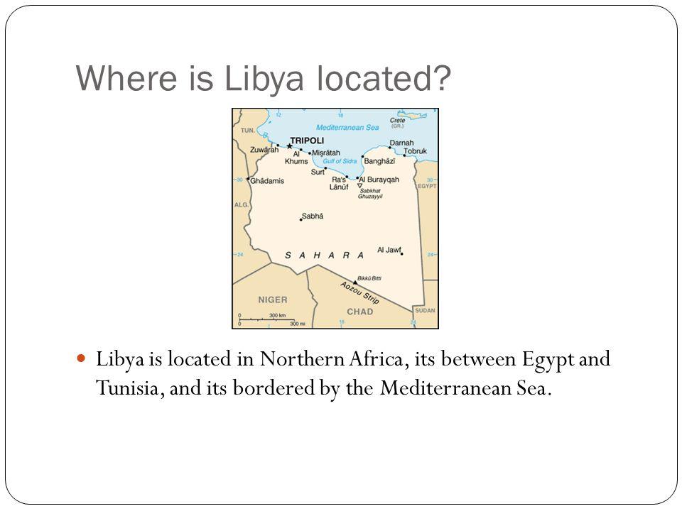 Johana Zuniga Period Where Is Libya Located Libya Is Located - Where is libya