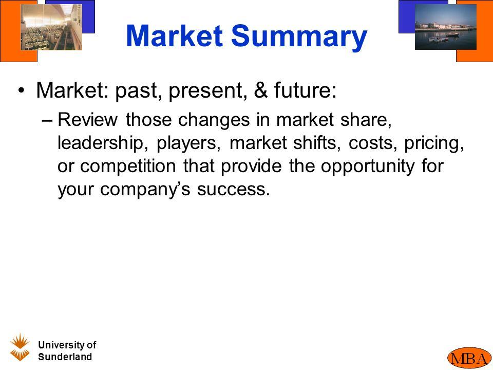 Market share business plan