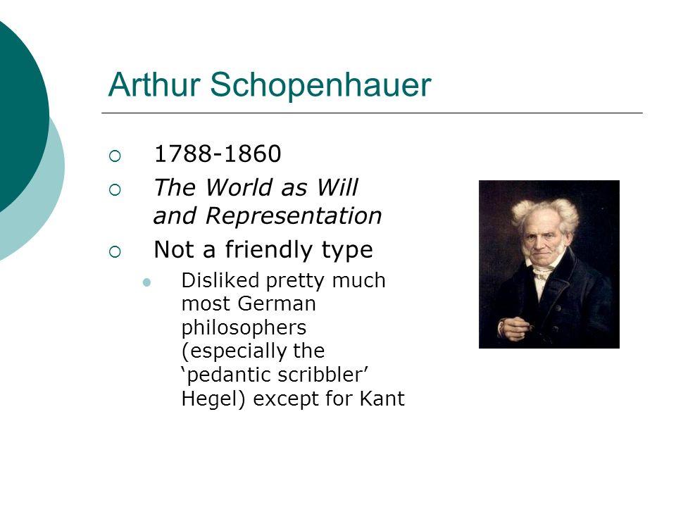 schopenhauer pnon on kierkegaard