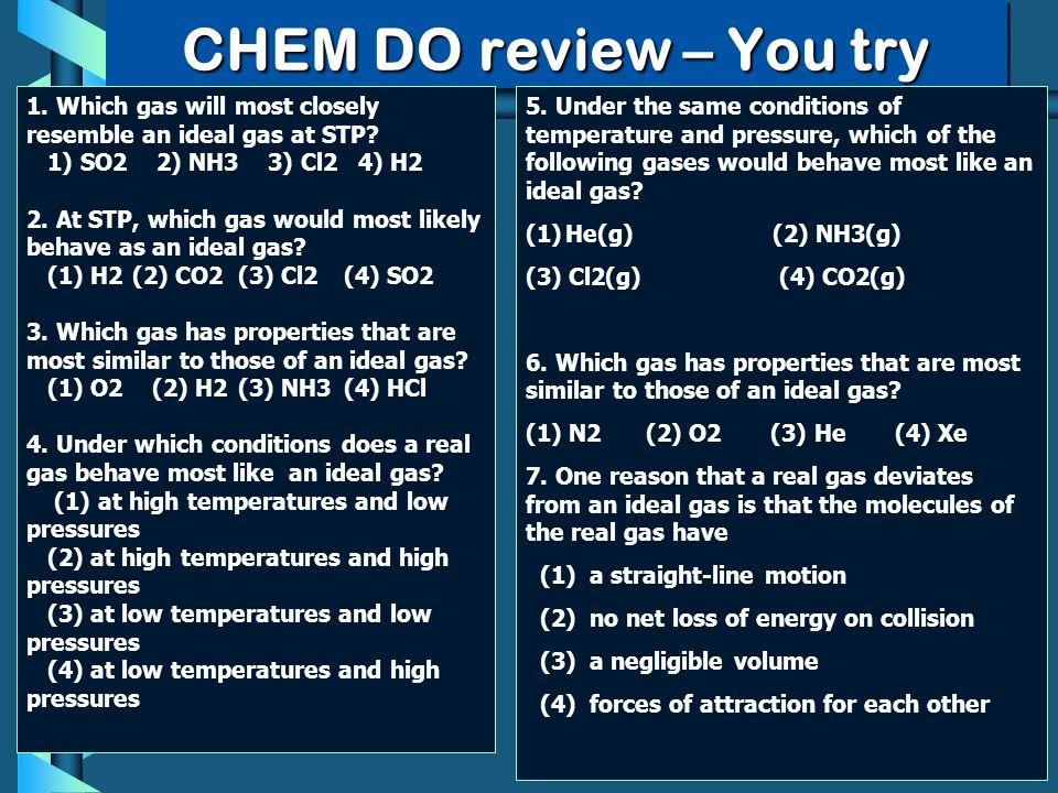 chem review