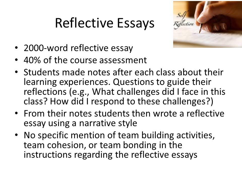 2000 word essay