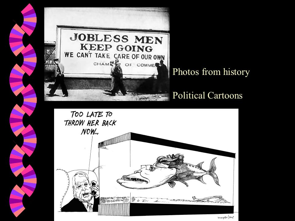 Photos from history Political Cartoons