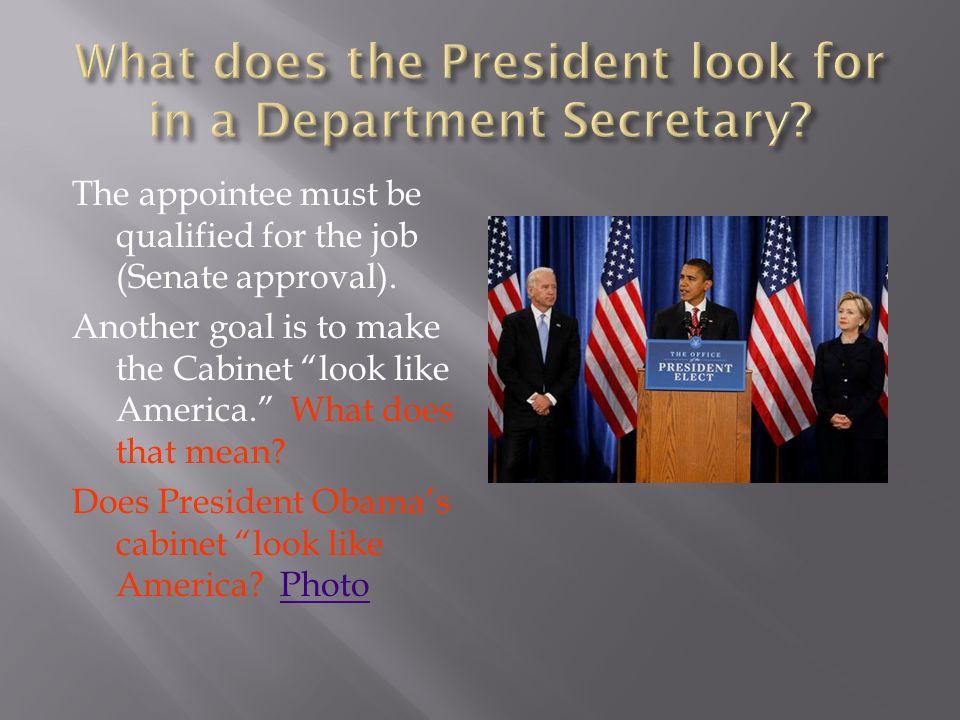 President, VP and Advisors Cabinet Agencies Bureaucracy – levels ...