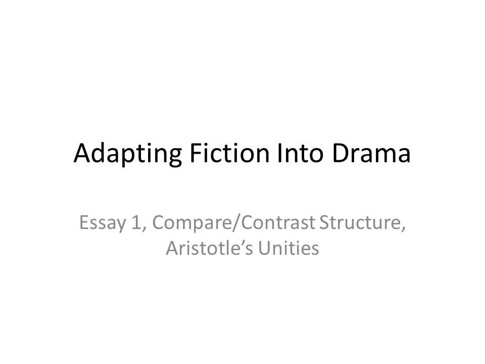 analysis drama essay
