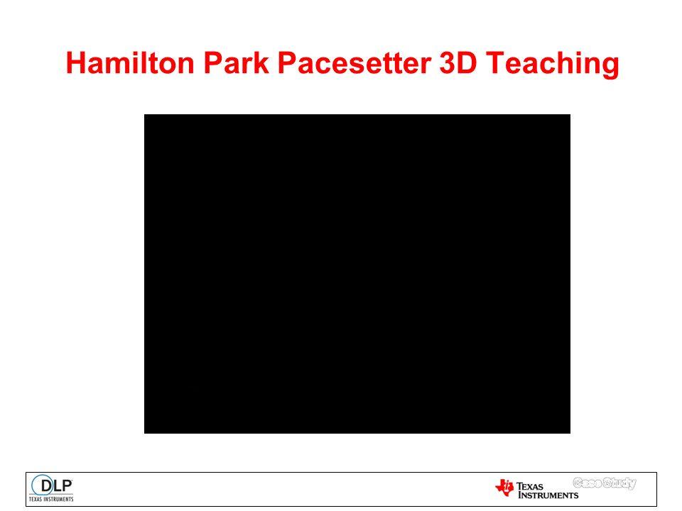 Hamilton Park Pacesetter 3D Teaching