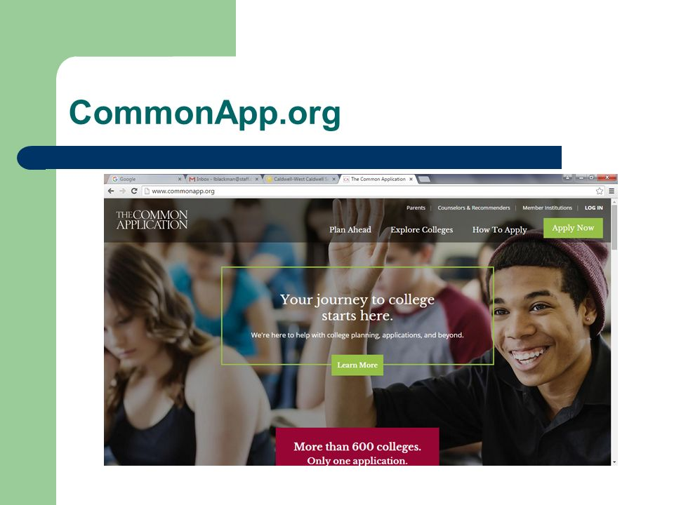 CommonApp.org