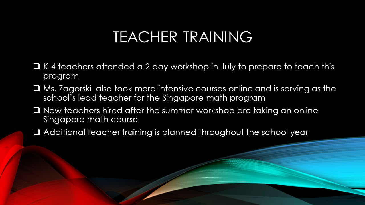 SINGAPORE MATH Parent Information Night – September ppt download