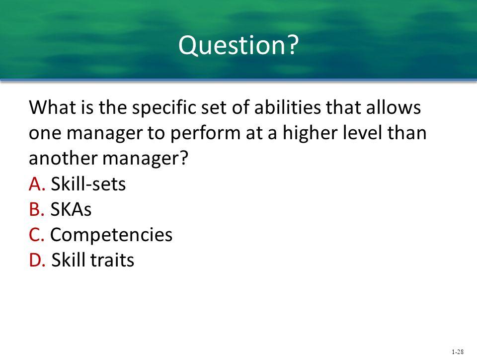 1-28 Question.