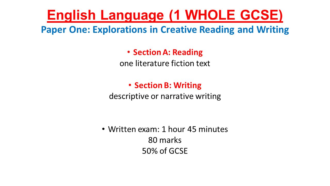 argumentative essay gcse english