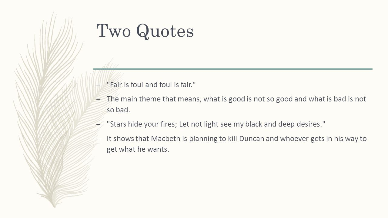 the themes of honor in macbeth by william shakespeare
