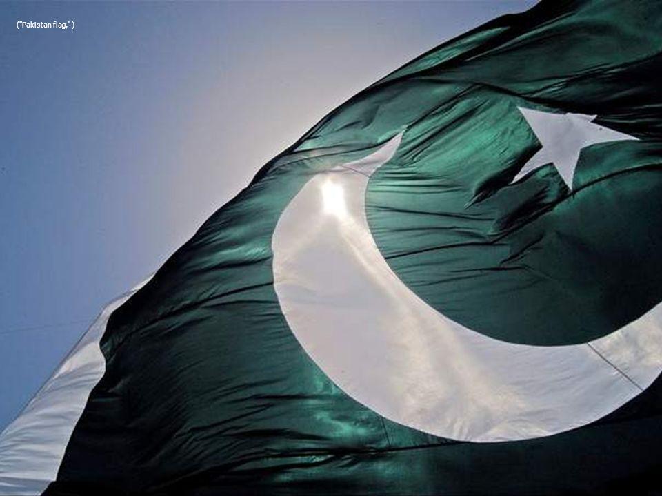 ( Pakistan flag, )