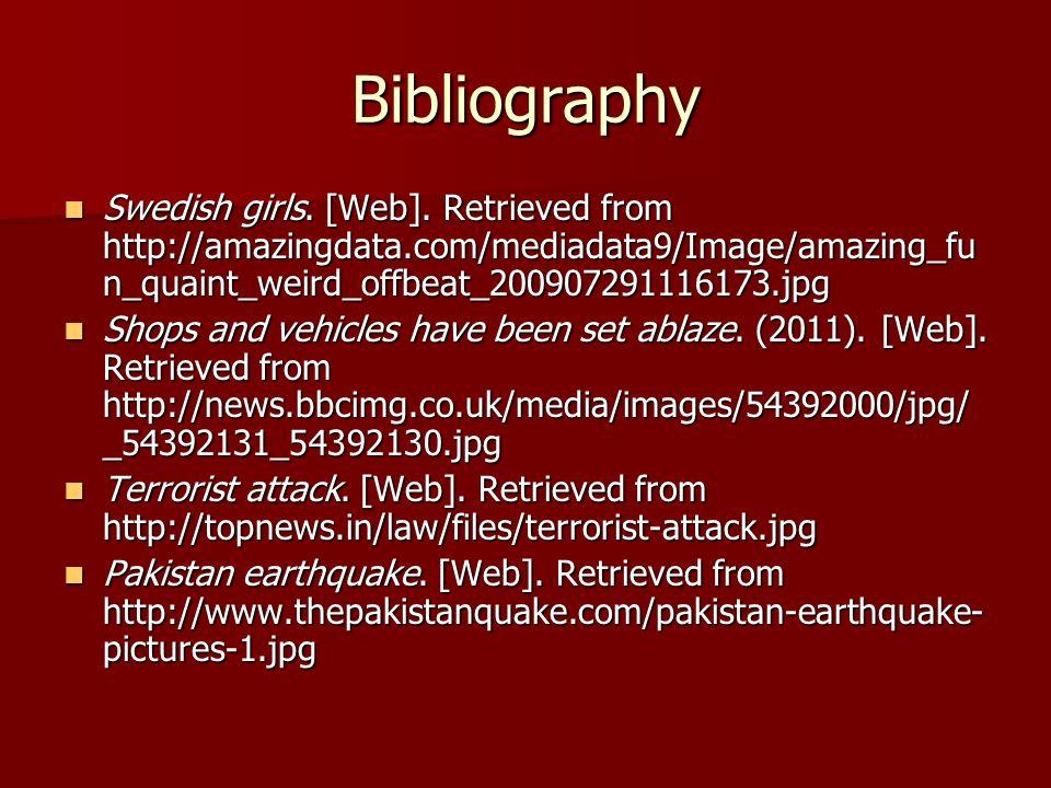 Bibliography Swedish girls. [Web].