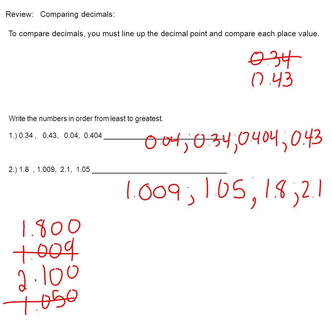 2-7 Rational Numbers Rational Number- A number that can be written ...