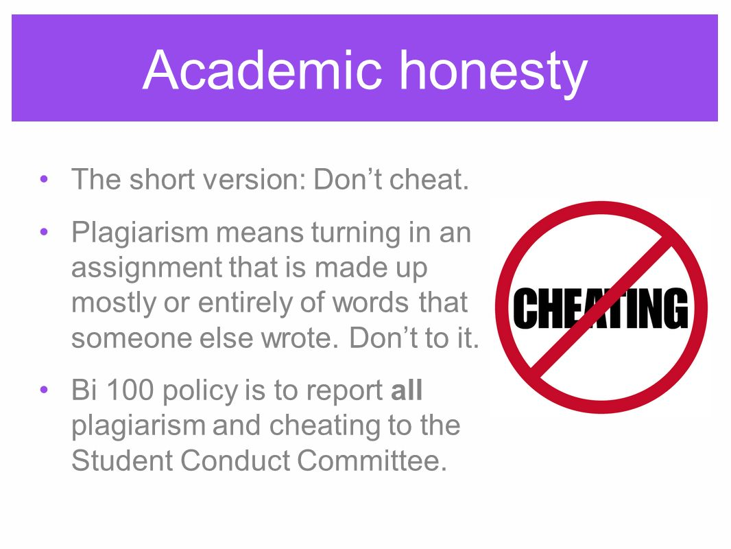 academic honesty The international center for academic integrity defines academic integrity as a commitment, even in the face of adversity, to six fundamental values: honesty, trust, fairness, respect, responsibility, and courage.