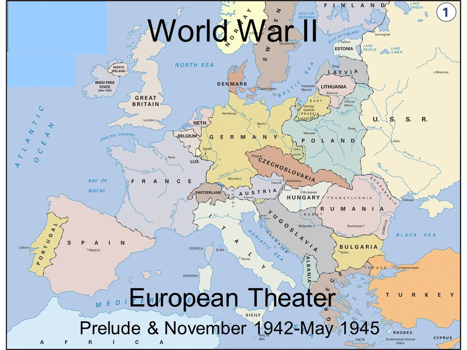 World war ii european theater prelude november 1942 may ppt download 3 world war ii european theater prelude november 1942 may 1945 gumiabroncs Gallery