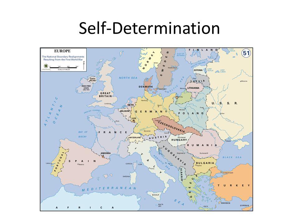 Self Determination Ww1 95454 | DFILES