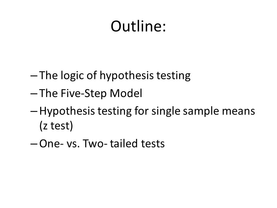 walmart one sample hypothesis testing