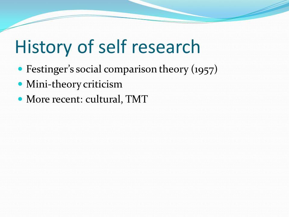 festinger sosial sammenligningsteori