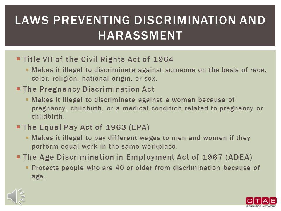 preventing workplace discrimination