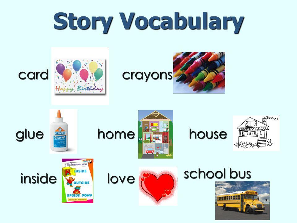 vocabulary parent letter