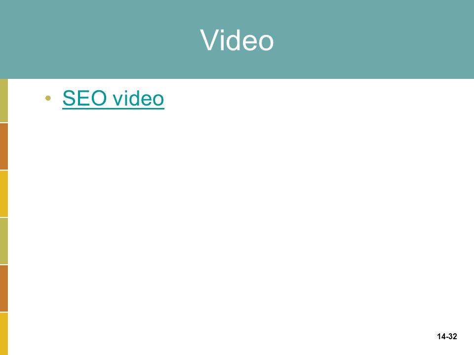14-32 Video SEO video