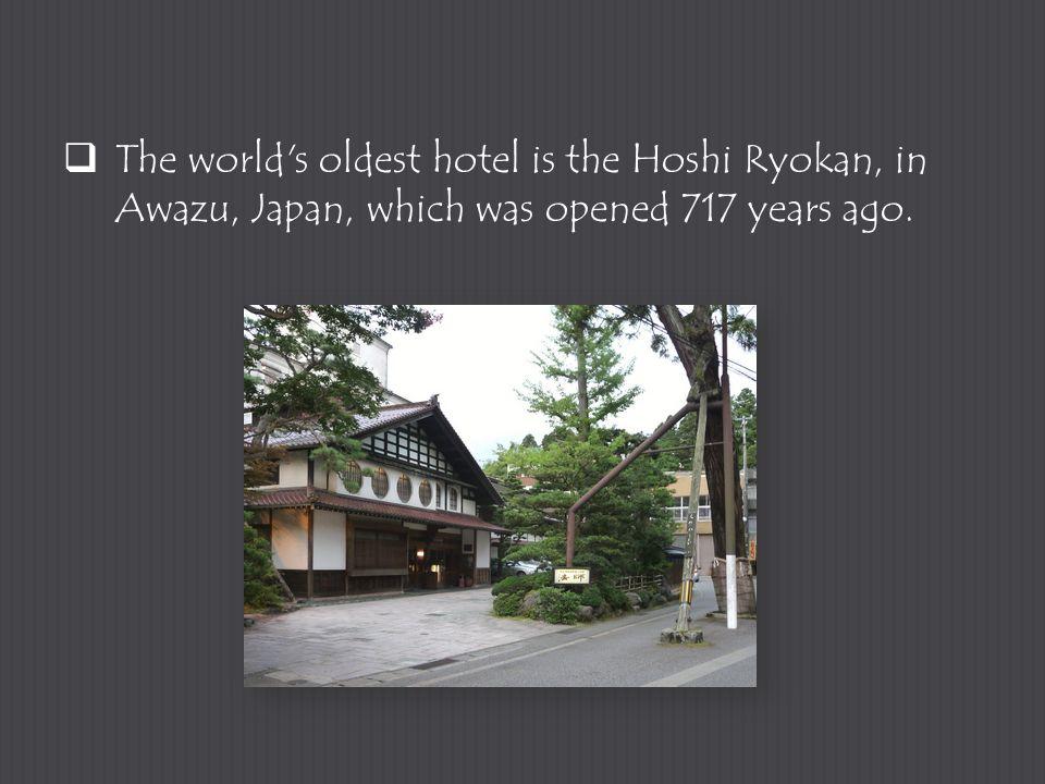 4  The Worldu0027s Oldest Hotel Is The Hoshi Ryokan ...