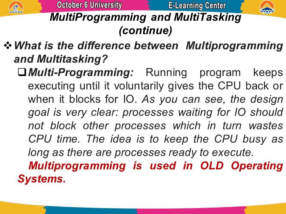 what is multitasking in operating system