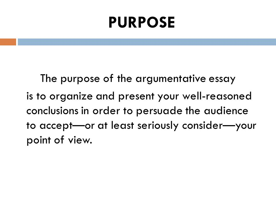 How to write an introduction to an argumentative essay Kevin deLaplante