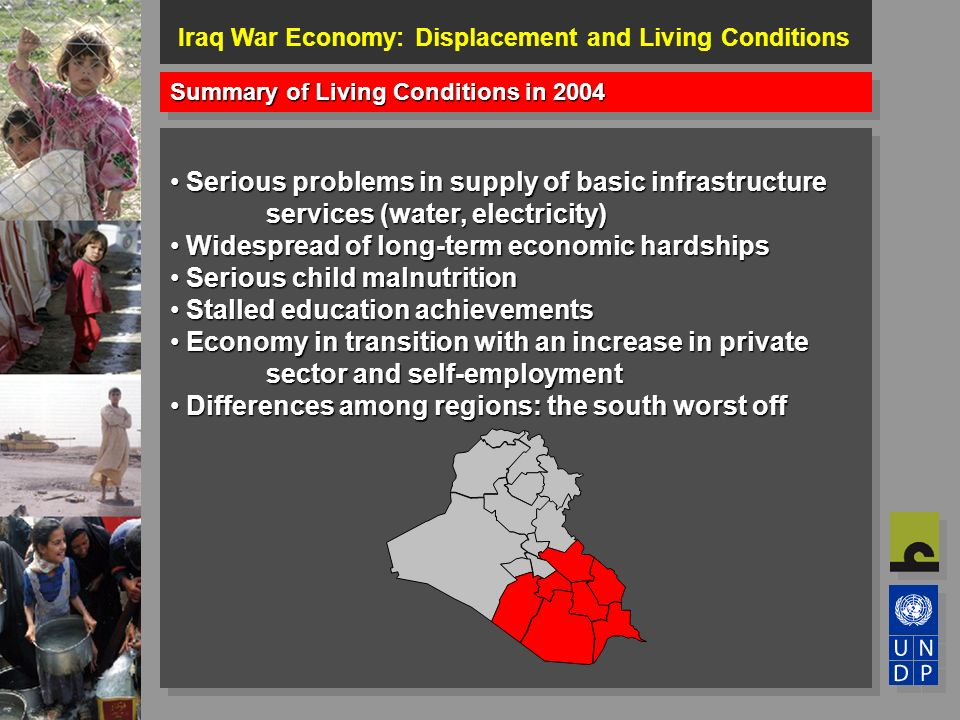 iraq war summary