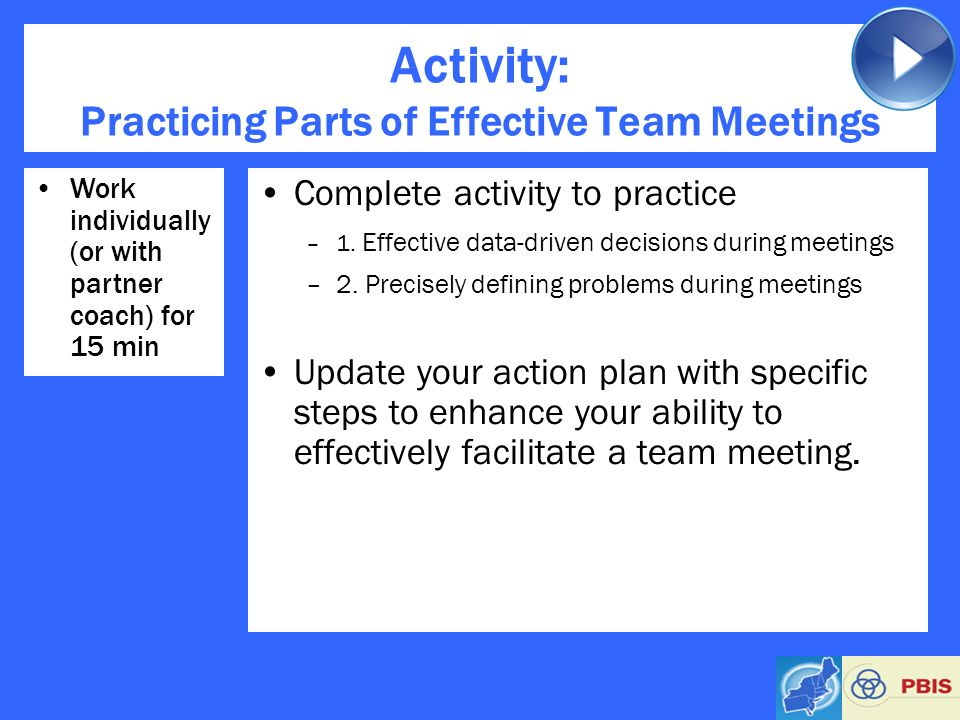 problems of effective meetings