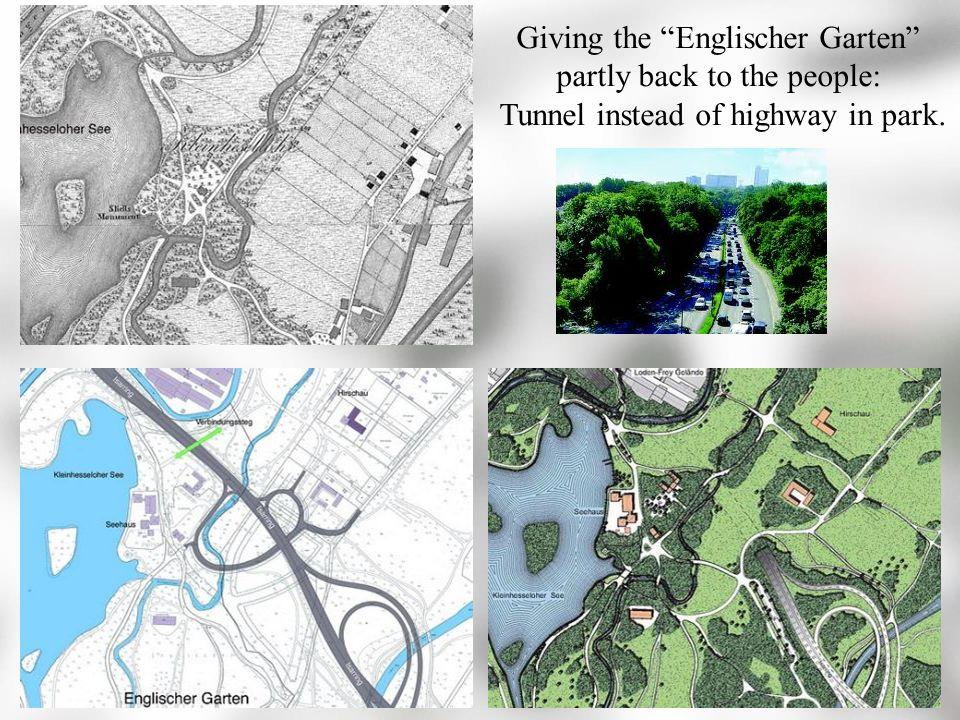 park tunnel englischer garten