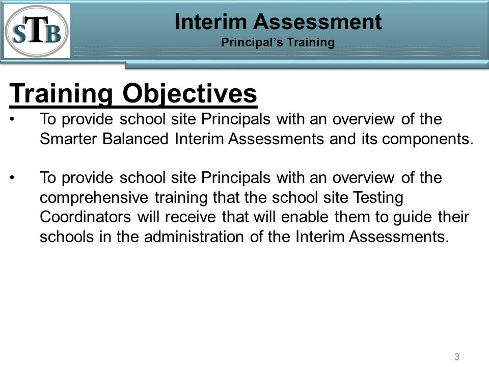 California Assessment of Student Performance and Progress Program ...