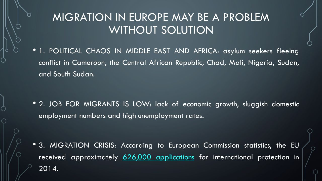 number asylum seekers europe from sudan