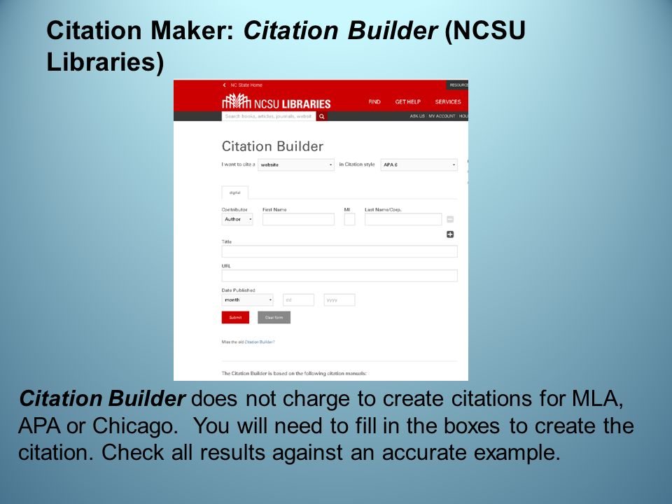 online essay citation