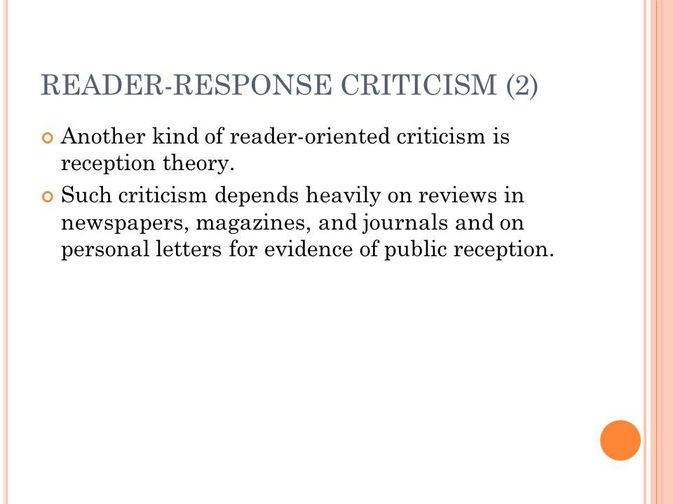 essay reader response