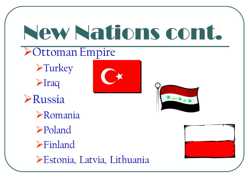 New Nations  Austro-Hungarian Empire  Austria  Hungary  Czechoslovakia  Yugoslavia