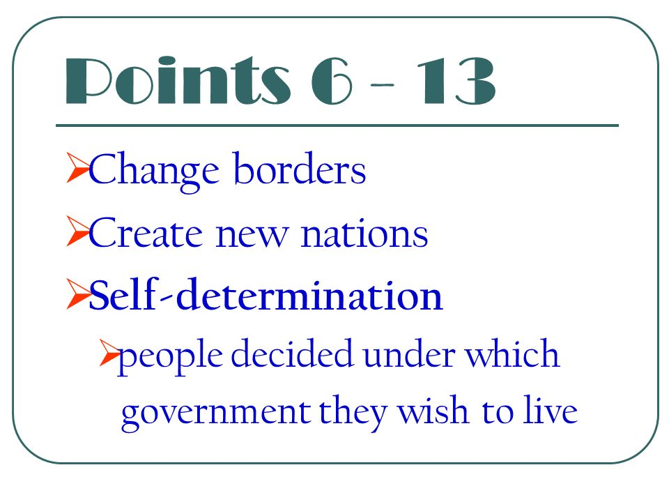 Fifth Point  Adjustment of colonies  Fairness toward colonial people