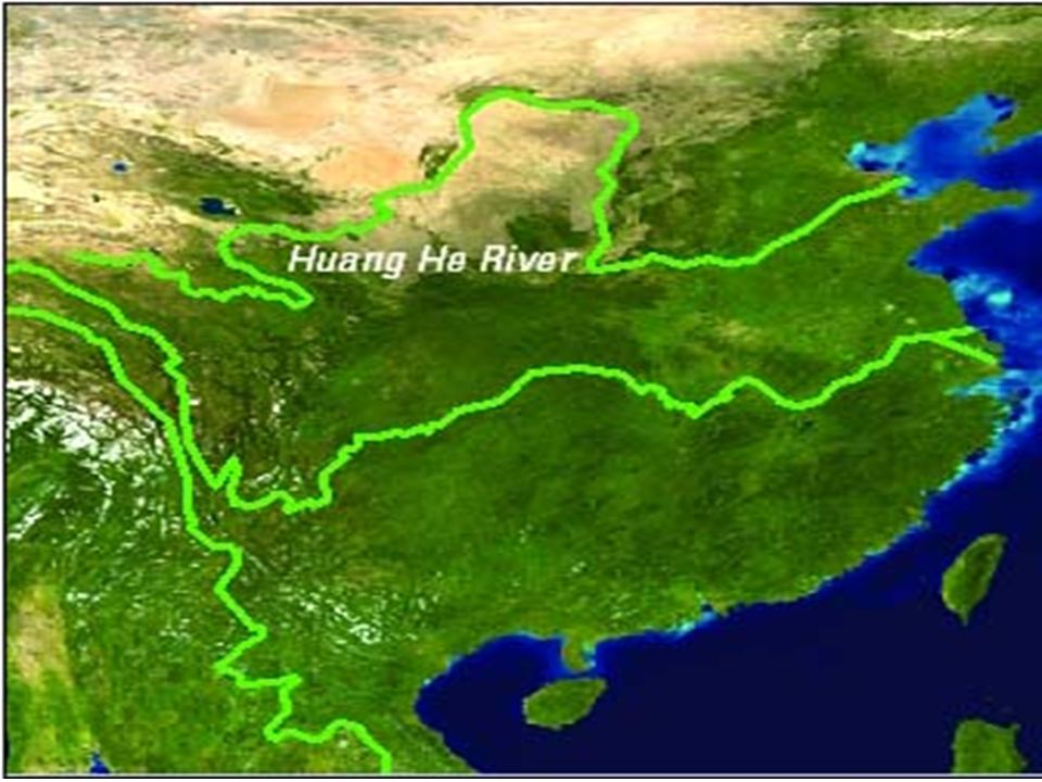 World Map Rivers Huang He - Picture Ideas References