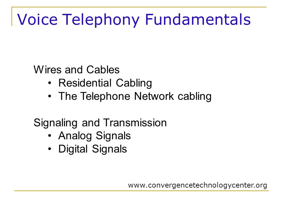 DUE Convergence Technology MODULE 2 - LEARNING OUTCOME 5 Describe ...