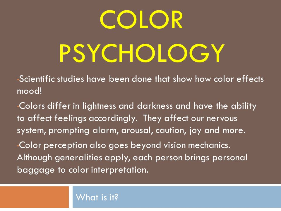Color And Mood Psychology how colors affect mood. ep how paint colors affect mood and