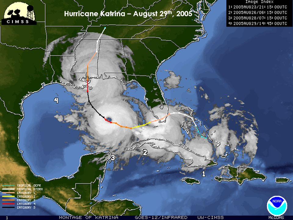 Hurricane Katrina – August 29 th, 2005