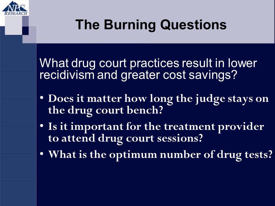 Costs of pretrial drug testing