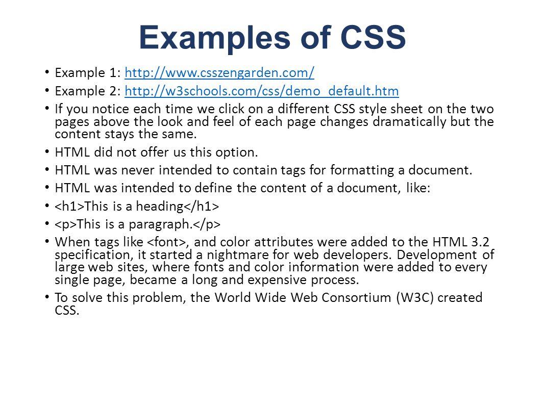 Web colors w3schools - 5 Examples