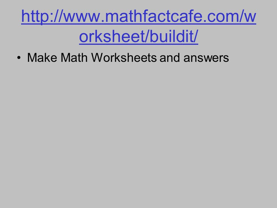 Magnificent Www.math Fact Cafe.com Ornament - Math Worksheets ...