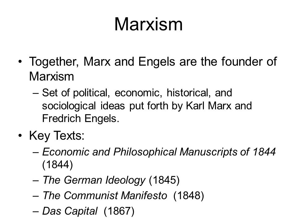 the views of marx and engels in the germany ideology Moreover, for marx and engels furthermore, the cynicism of some ideology views is in fact the fruits of a kind of utopianism about law.