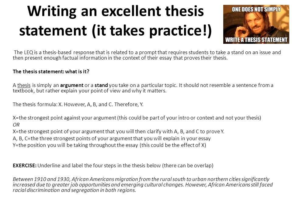 brilliant thesis statements This handout describes what a thesis statement is, how thesis statements work in your writing, and how you can discover or refine one for your draft.