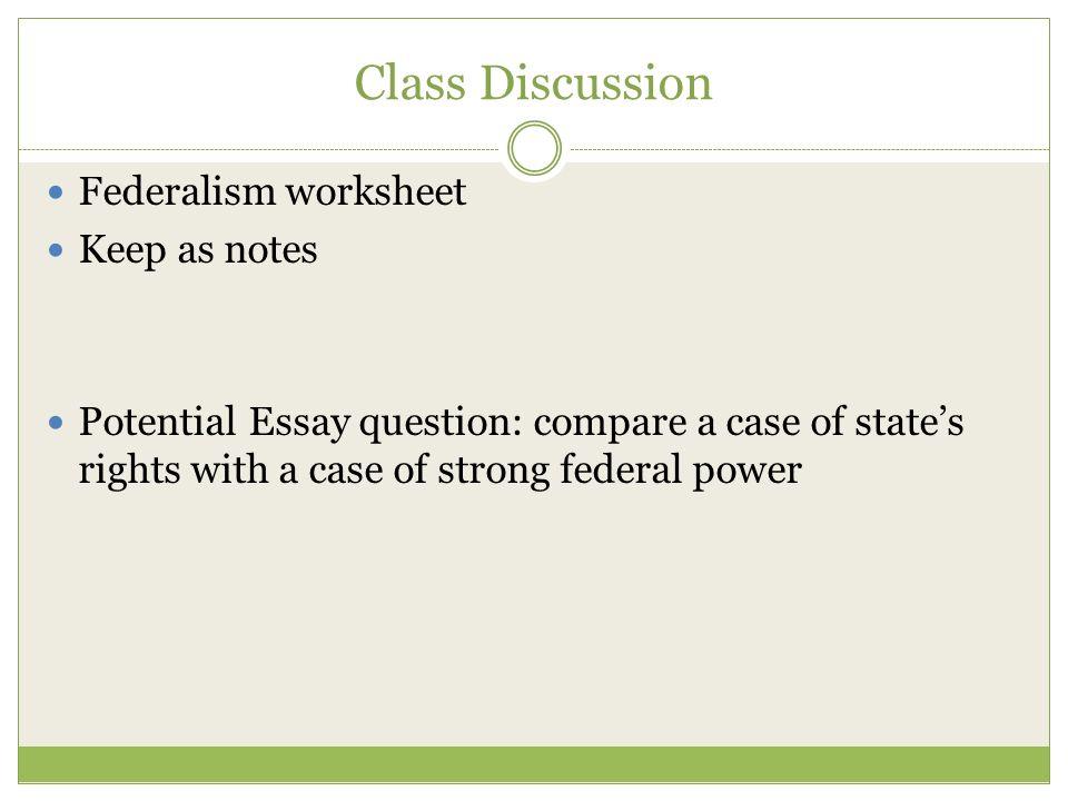 the balance of power essay