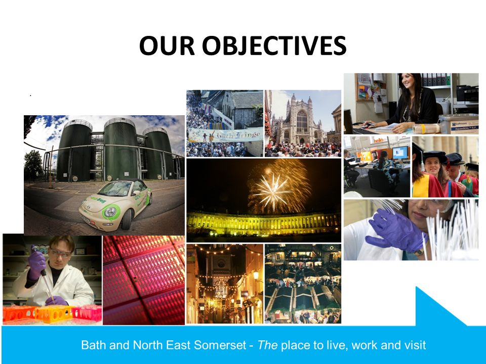 OUR OBJECTIVES.