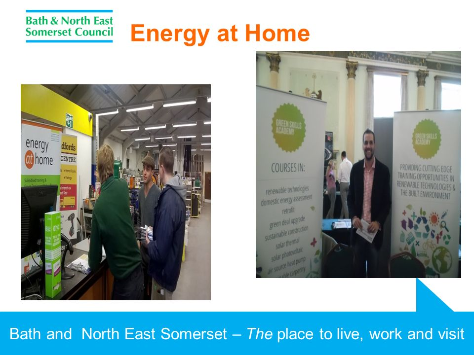 Bath and North East Somerset – The place to live, work and visit Energy at Home