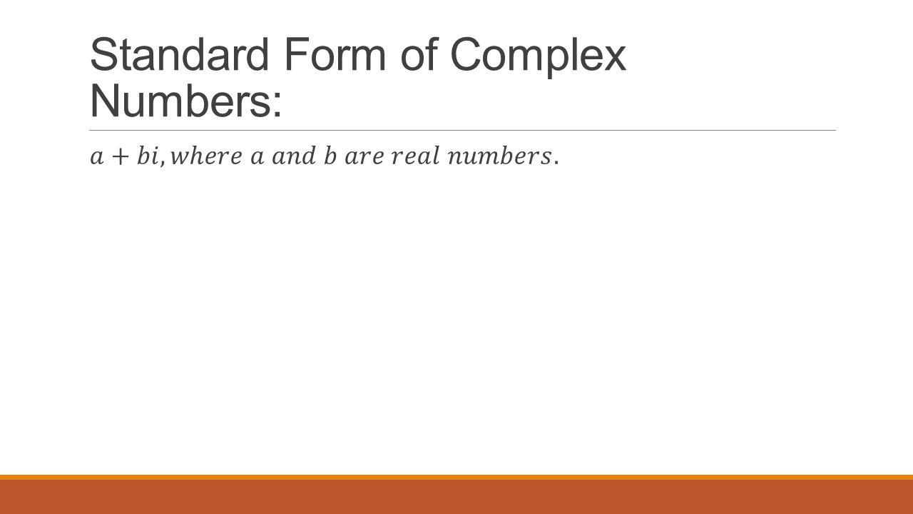 Unit 4 quadratic functions and factoring unit essential 76 standard form of complex numbers falaconquin